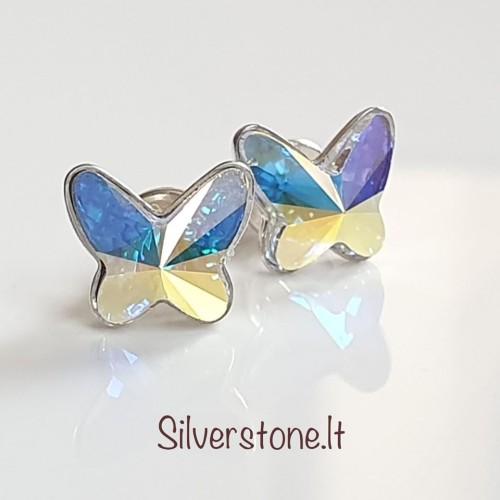 "Auskarai ""Butterfly AB"""